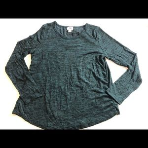 Old Navy heathered blue sweater top